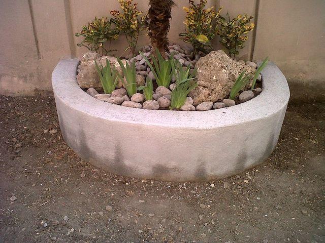 Dise o 18 de enero 2012 detalle de la jardinera palma - Piedra para jardineria ...