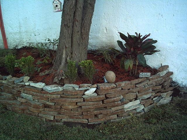 Jardinera en arbol despu s imagen en jardineria for Jardineras para arboles grandes